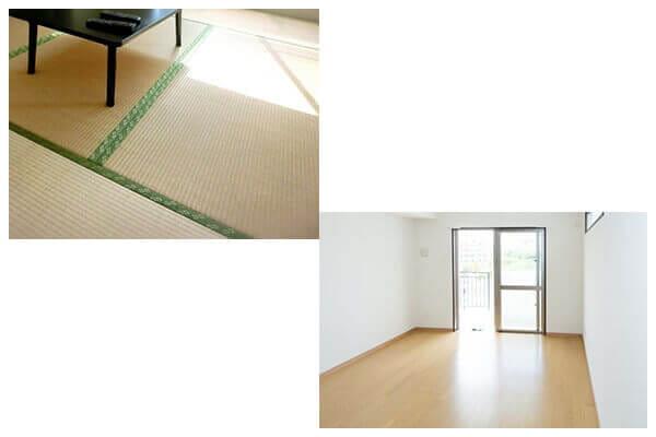 和室を洋室改装